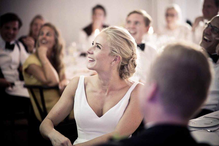 Brylluppets farver passer sammen